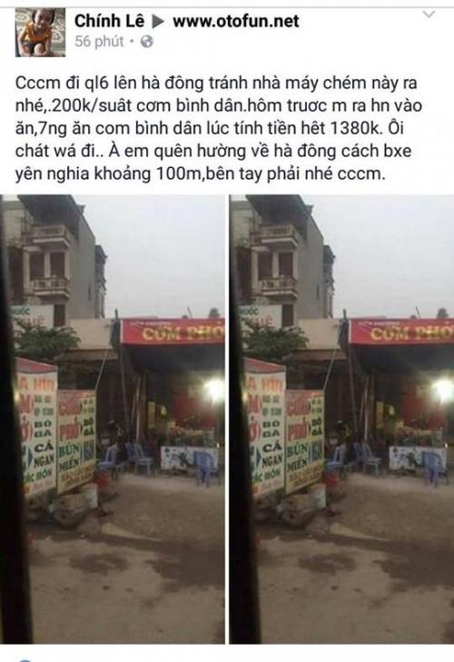 Khiếp vía suất cơm bình dân 200 nghìn ở Bến xe Yên Nghĩa - ảnh 1