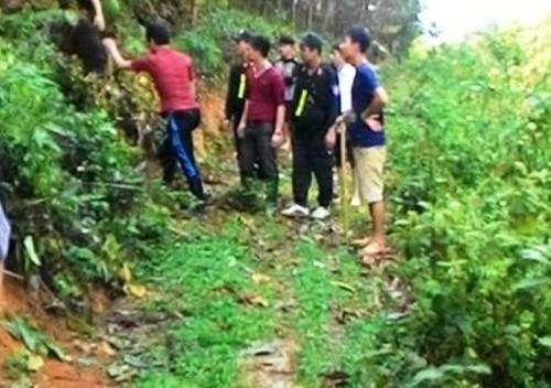 Vây bắt nghi phạm tẩu thoát nhờ trận mưa đá lớn ở Tuyên Quang - ảnh 2