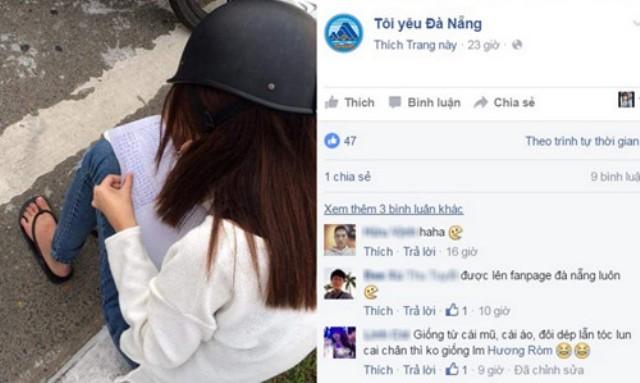 Dân mạng thích thú với cách xử phạt độc đáo của CSGT Đà Nẵng - ảnh 1