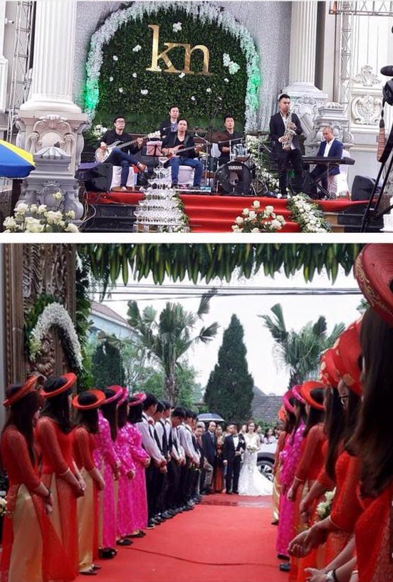 Choáng ngợp trước đám cưới 'khủng', hồi môn trăm tỷ ở Nam Định - ảnh 4