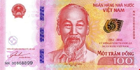 Tờ tiền 100 đồng của NHNN có giá 20.000 đồng - ảnh 1