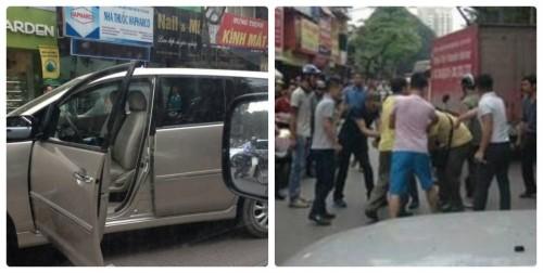 Người dân có phạm luật khi đập xe Innova gây tai nạn, chạy CSGT? - ảnh 1