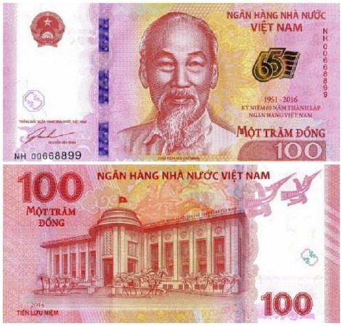 Chi phí NHNN in tiền 100 đồng lưu niệm là bao nhiêu? - ảnh 1
