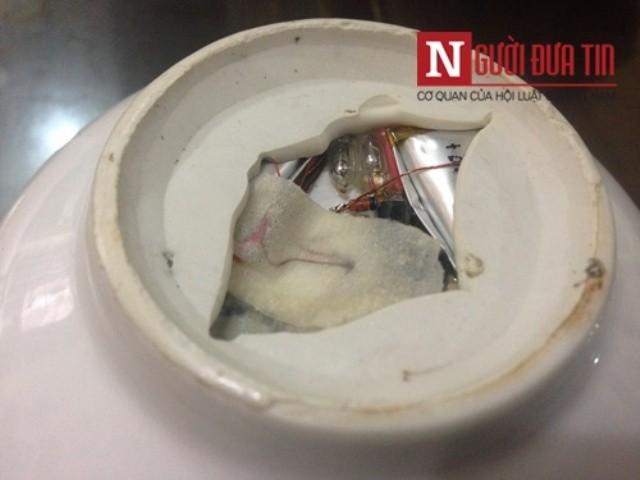Cục CSHS nói gì về chiếc bát ăn cơm gắn thiết bị lạ? - ảnh 1