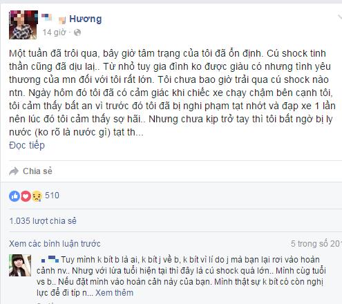 Rơi nước mắt với tâm thư trên Facebook của nữ sinh bị tạt axit  - ảnh 2