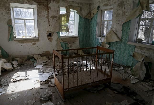 Ám ảnh thị trấn ma bị bỏ hoang 30 năm sau thảm họa hạt nhân - ảnh 9