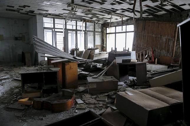 Ám ảnh thị trấn ma bị bỏ hoang 30 năm sau thảm họa hạt nhân - ảnh 4
