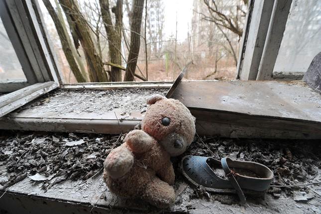 Ám ảnh thị trấn ma bị bỏ hoang 30 năm sau thảm họa hạt nhân - ảnh 6