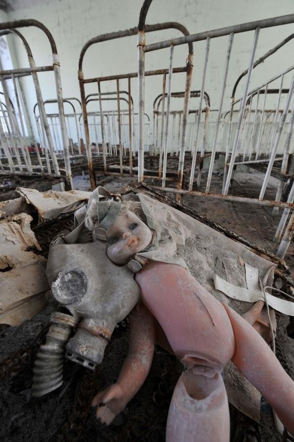 Ám ảnh thị trấn ma bị bỏ hoang 30 năm sau thảm họa hạt nhân - ảnh 8