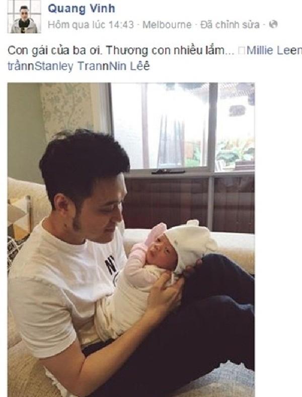 Lộ chuyện Quang Vinh bí mật cưới vợ, sinh con? - ảnh 3