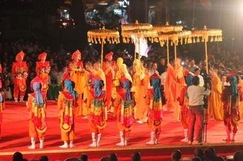 Độc đáo lễ hội Quảng Chiếu thất truyền hơn 1.000 năm - ảnh 7