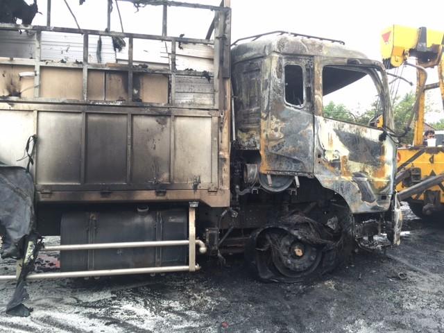 Xe giường nằm bốc cháy: 12 người chết, 45 bị thương - ảnh 1
