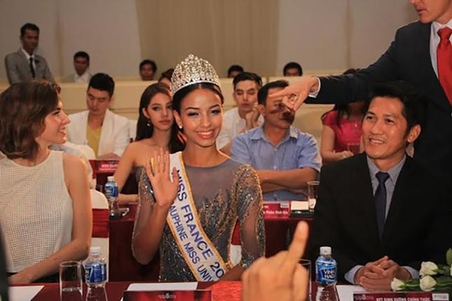 """Hoa hậu Pháp: """"Vinh dự tham gia họp báo Hoa hậu Việt Nam 2016"""" - ảnh 2"""