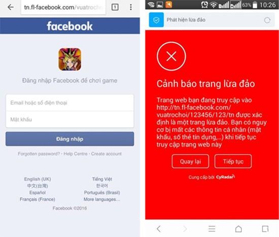 Lừa người dùng Facebook chơi game để ăn cắp mật khẩu - ảnh 2