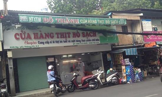 Nở rộ cửa hàng thịt bò sạch... tự phong - ảnh 1