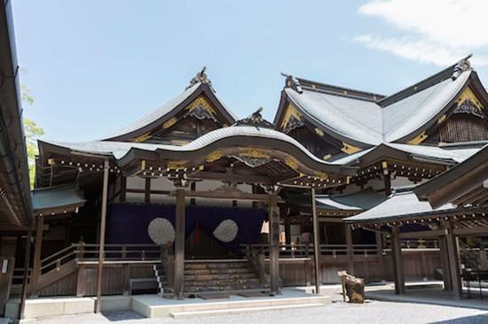 Đền thờ linh thiêng nhất Nhật Bản 20 năm xây lại một lần - ảnh 2