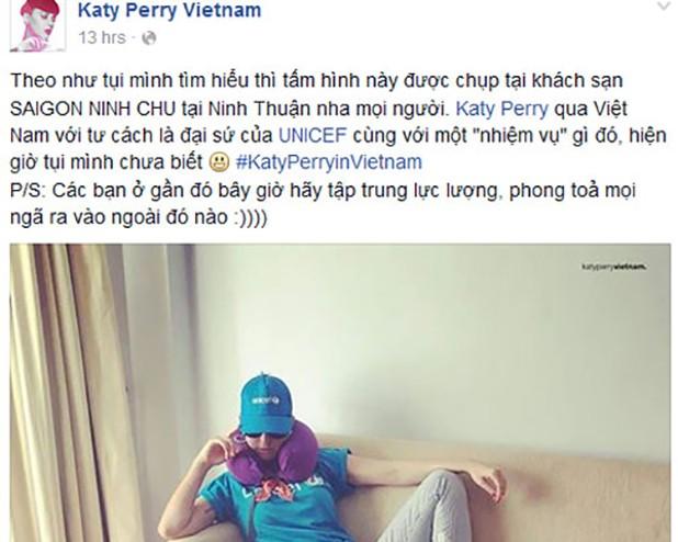 Katy Perry đang có mặt ở Ninh Thuận - ảnh 2