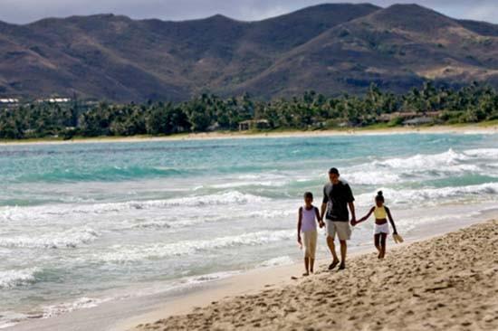 Hawaii - nơi nghỉ dưỡng quen thuộc của gia đình Obama - ảnh 4