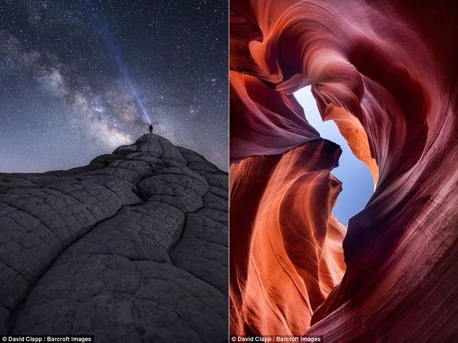 Những vẻ đẹp kỳ lạ trên sa mạc nước Mỹ - ảnh 4