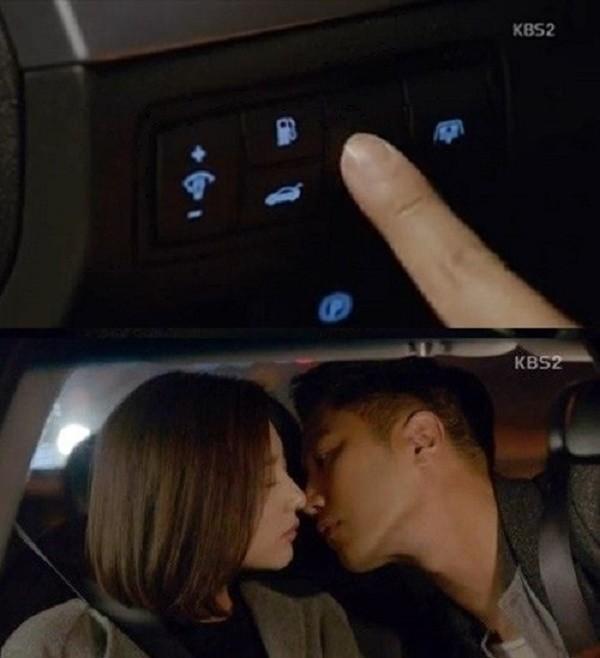 Cặp đôi đâm vào bụi cây vì hôn nhau trên xe như Hậu duệ mặt trời - ảnh 1
