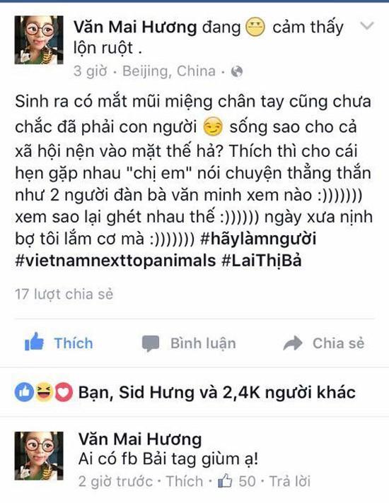 Văn Mai Hương bị tố giả tạo... kích động fan để 'hại' Sơn Tùng - ảnh 2