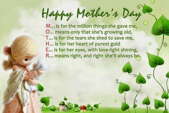 Ngày của Mẹ: Những lời chúc hay và cảm động nhất dành cho mẹ yêu - ảnh 1