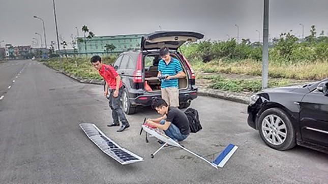 Sinh viên chế tạo máy bay - ảnh 1