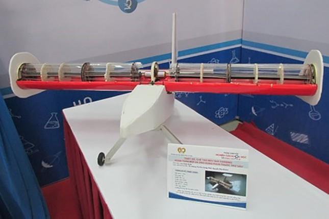 Sinh viên chế tạo máy bay - ảnh 2