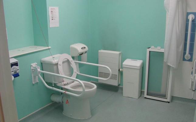 Chiến lược Bộ trưởng tấn công nhà vệ sinh bệnh viện - ảnh 2