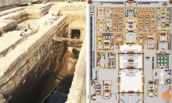 Phát hiện cung điện của Hốt Tất Liệt dưới Tử Cấm Thành - ảnh 1