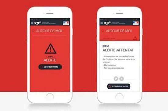Pháp ra ứng dụng cảnh báo nguy cơ khủng bố tại EURO 2016 - ảnh 1