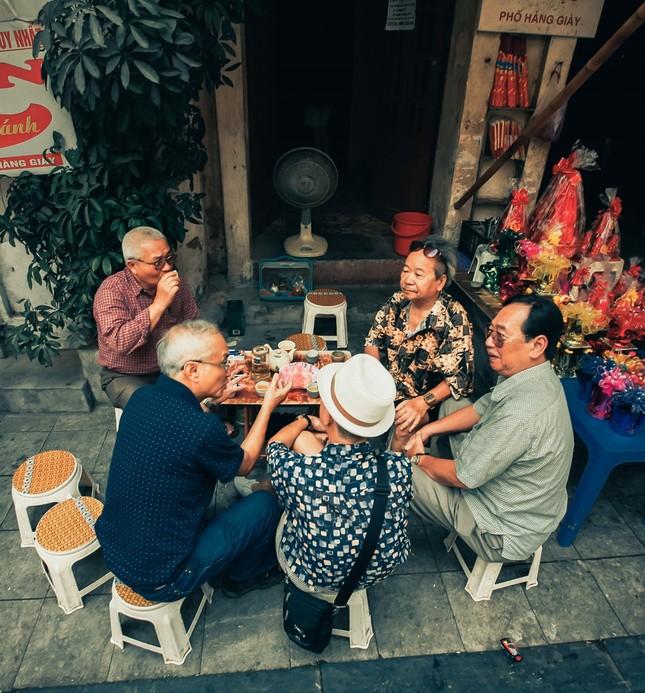 Văn hóa trà đá vỉa hè đất Hà thành - ảnh 2