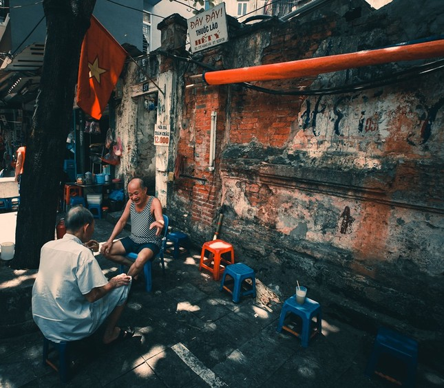 Văn hóa trà đá vỉa hè đất Hà thành - ảnh 3