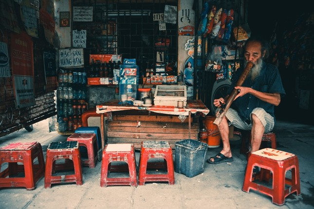 Văn hóa trà đá vỉa hè đất Hà thành - ảnh 15