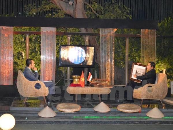 Chương trình quảng bá Việt Nam lên sóng truyền hình Ai Cập - ảnh 2