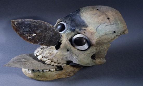 Mặt nạ hộp sọ bí ẩn trong đền thờ Aztec cổ đại - ảnh 2