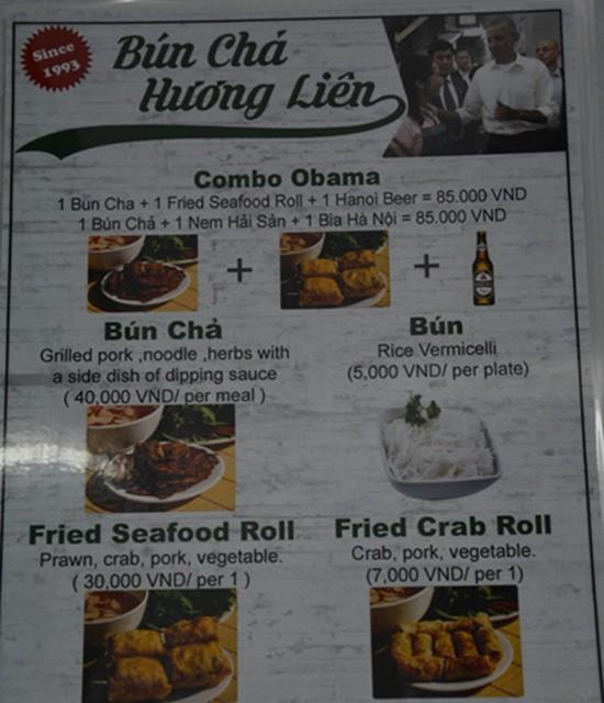 Quán bún chả Hương Liên đưa 'combo Obama' vào thực đơn - ảnh 2