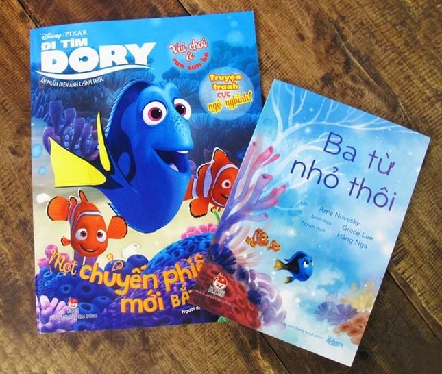 Bài học ý nghĩa cho các em nhỏ qua bộ sách 'Đi tìm Dory' - ảnh 1