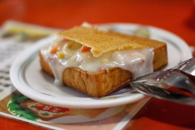 Bánh mì quan tài - món ăn đường phố độc đáo của Đài Loan - ảnh 1