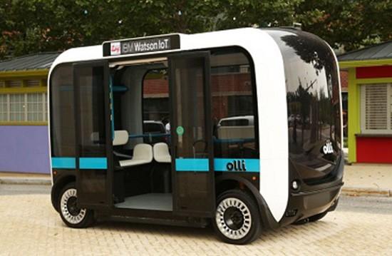 Mỹ ra mắt xe buýt tự lái - ảnh 1