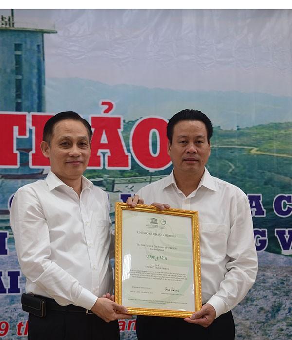 Cao nguyên đá Đồng Văn chính thức nhận danh hiệu của UNESCO - ảnh 1
