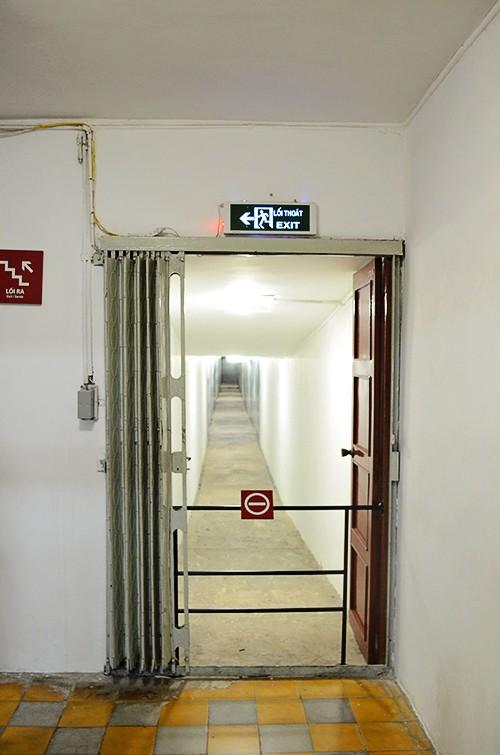 Đường hầm bí mật trong Dinh Độc Lập - ảnh 9