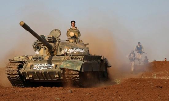 Syria tiến công giành thị trấn chiến lược từ IS - ảnh 1