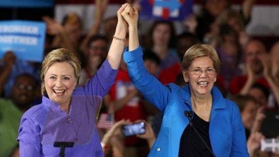 Nữ nghị sĩ Mỹ sát cánh cùng bà Clinton chống Donald Trump - ảnh 1