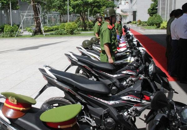 Trang bị 100 xe đặc chủng cho CA bắt cướp ở Sài Gòn - ảnh 1