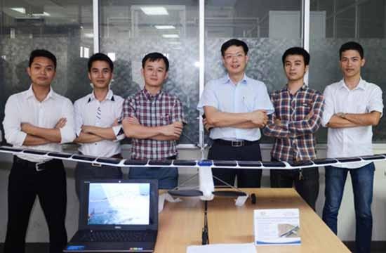 Máy bay không người lái của 5 thế hệ sinh viên Bách khoa - ảnh 3