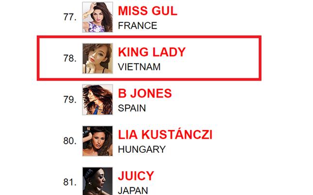 King Lady đứng thứ 78 bảng xếp hạng DJ thế giới - ảnh 1