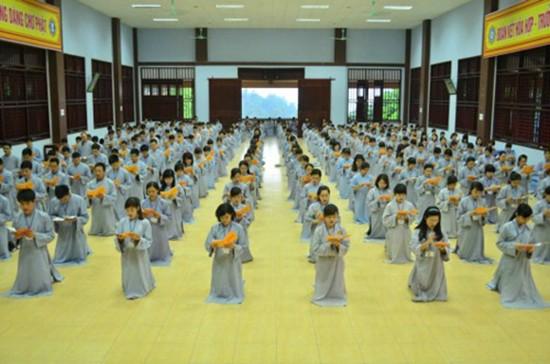 Địa chỉ cho trẻ tập tu, học làm lính gần Hà Nội - ảnh 1