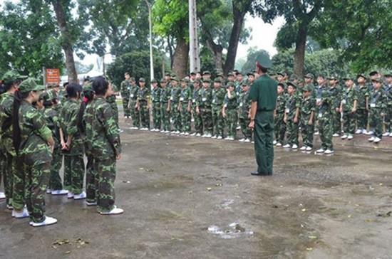 Địa chỉ cho trẻ tập tu, học làm lính gần Hà Nội - ảnh 4