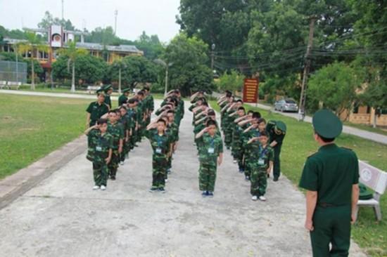Địa chỉ cho trẻ tập tu, học làm lính gần Hà Nội - ảnh 5